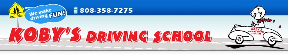 Hawaii Driving School : Koby's Driving School